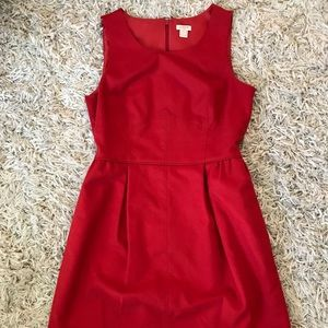 ❤️Drop Dead Red J.Crew Dress❤️